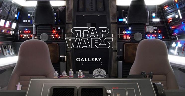 Conoce la increíble Star Wars Gallery que se está exhibiendo en Londres 01a
