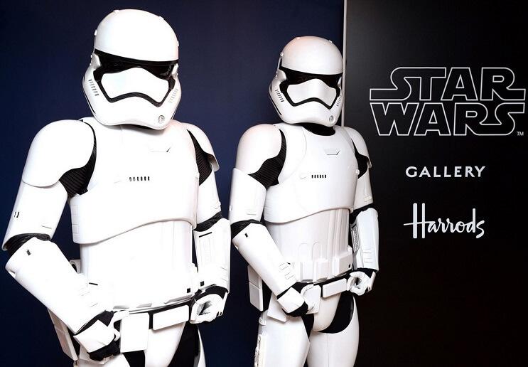 Conoce la increíble Star Wars Gallery que se está exhibiendo en Londres 02