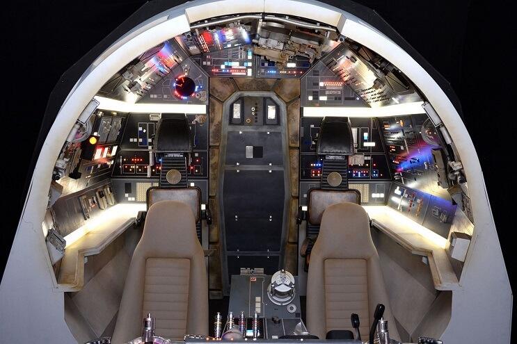 Conoce la increíble Star Wars Gallery que se está exhibiendo en Londres 09