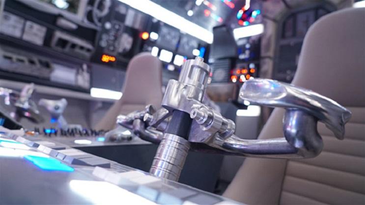 Conoce la increíble Star Wars Gallery que se está exhibiendo en Londres 10a