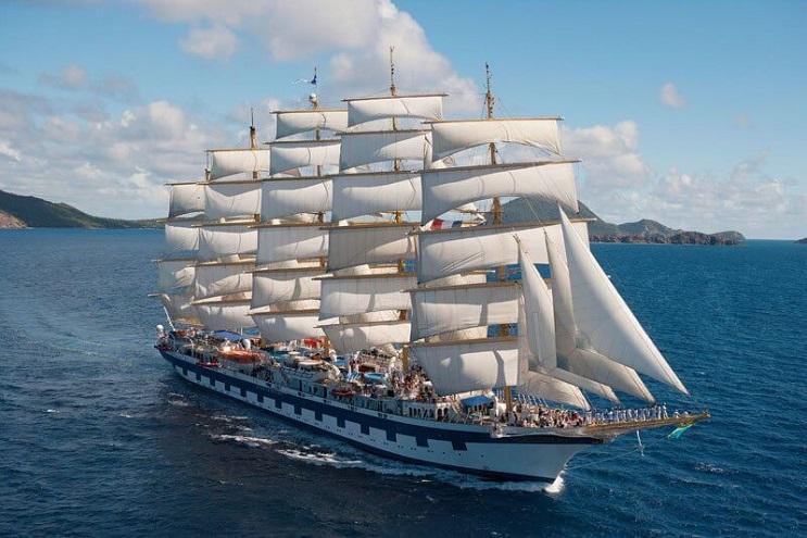 Conoce por dentro al barco de vela más grande del mundo 01