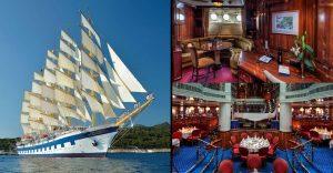 Conoce por dentro el barco de vela más grande del mundo