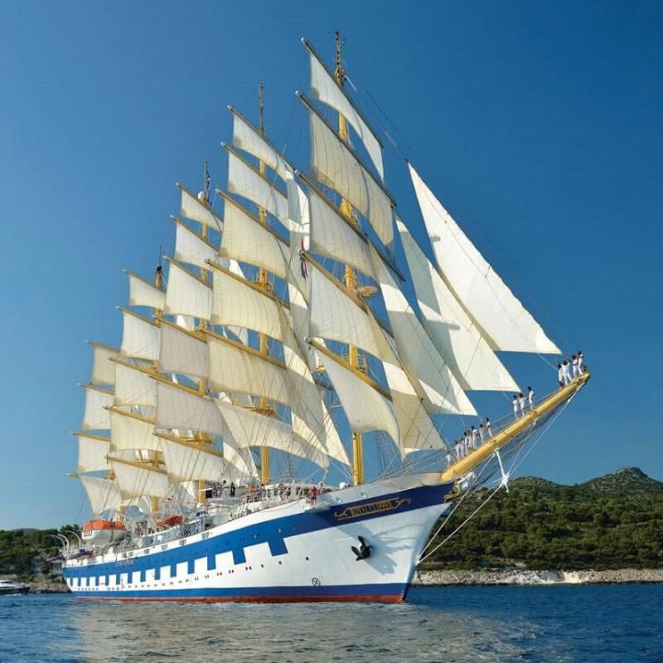 Conoce por dentro al barco de vela más grande del mundo 02
