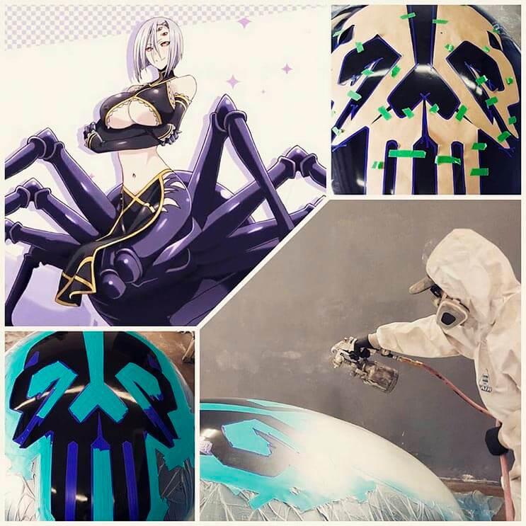 Cosplayer Marie-Claude hizo un traje de araña increíble 12