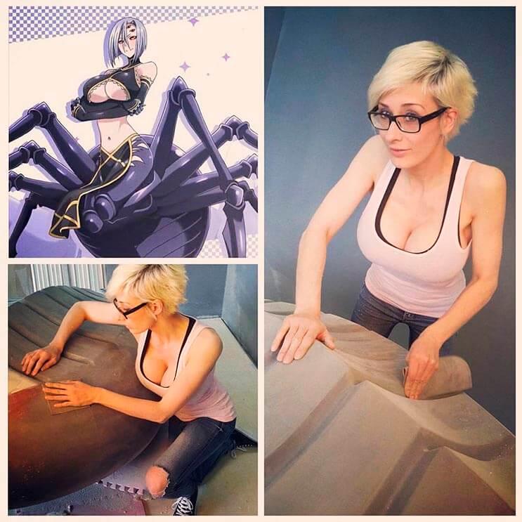 Cosplayer Marie-Claude hizo un traje de araña increíble 6