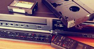 Después de 40 años, el reproductor de VHS le dice adiós a muchas generaciones