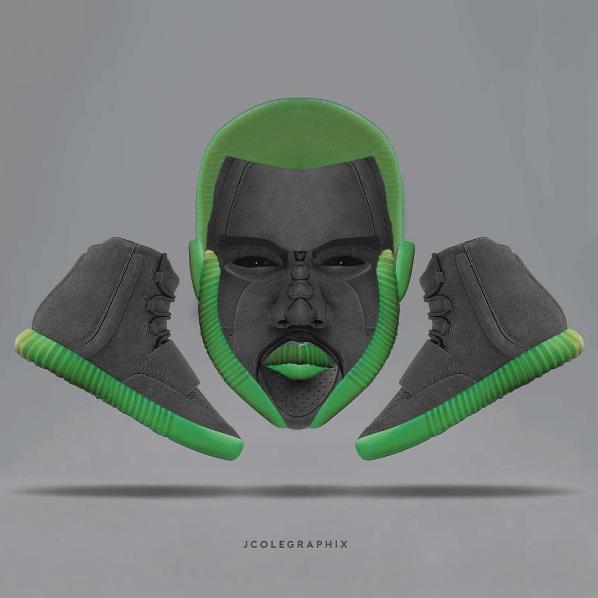 Diseñador sorprende transformando zapatillas en conocidas celebridades 04