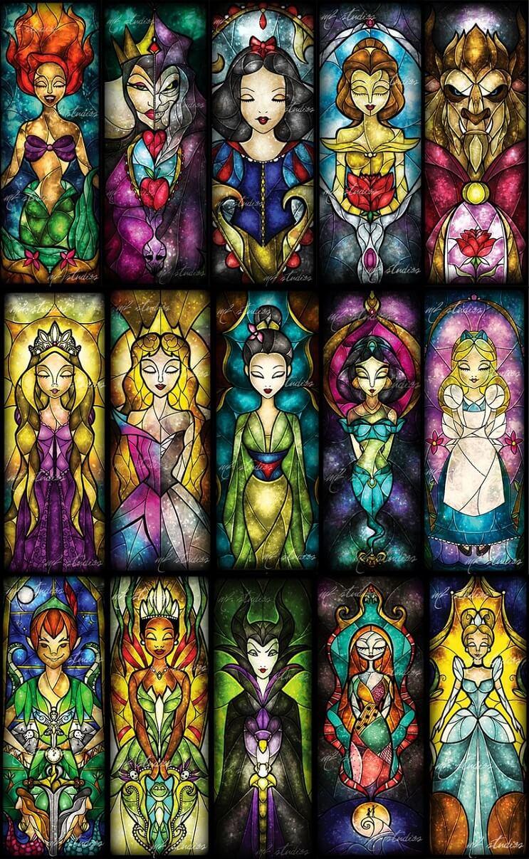 El asombroso arte en vitrales de Mandie Manzano 12