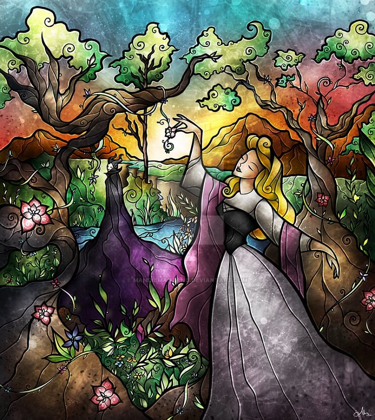 El asombroso arte en vitrales de Mandie Manzano 2