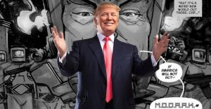 El nuevo villano racista de Marvel se parece mucho a Donald Trump