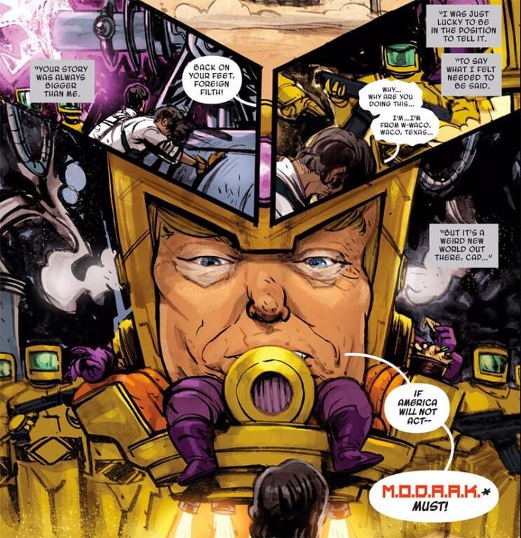 El nuevo villano racista de Marvel se parece mucho a Donald Trump 03