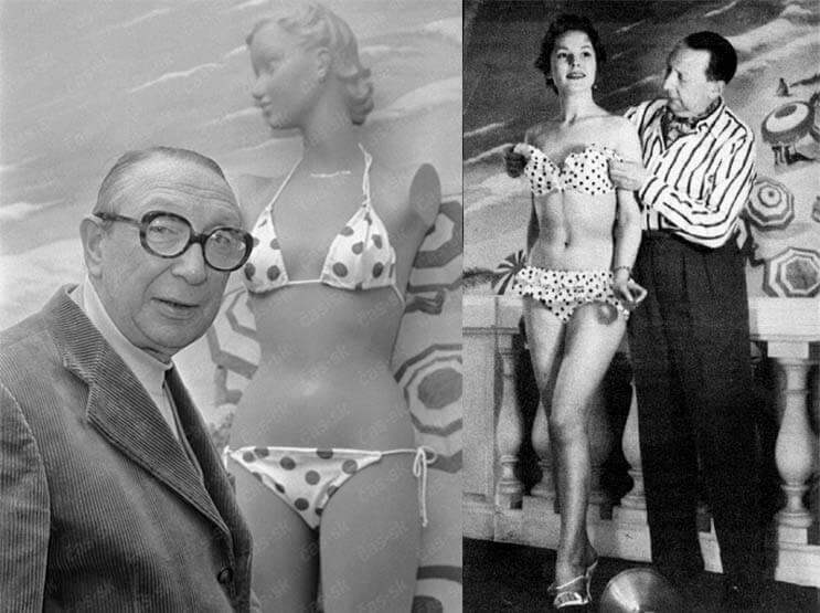 El revolucionario bikini cumple 70 años - Louis Réard