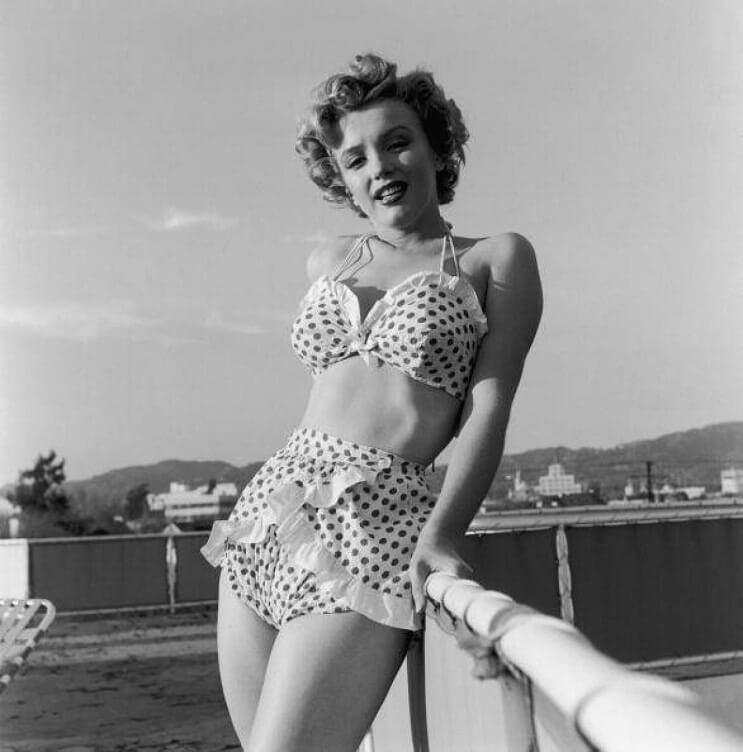 El revolucionario bikini cumple 70 años - Marilyn Monroe