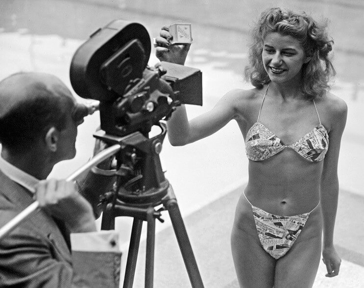El revolucionario bikini cumple 70 años - Micheline Bernardini