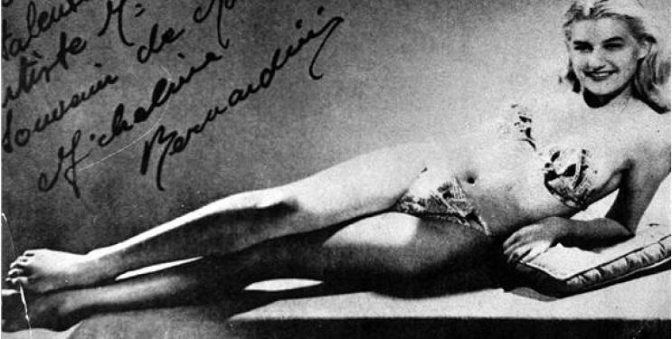 El revolucionario bikini cumple 70 años - Micheline Bernardini1