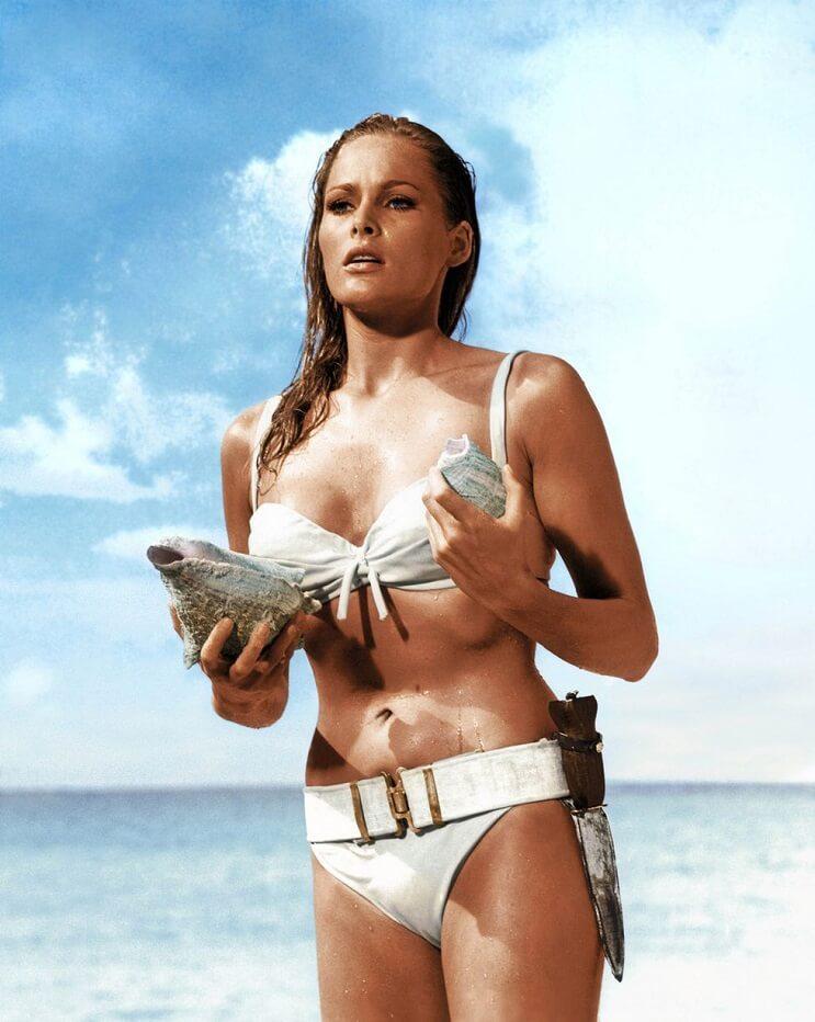 El revolucionario bikini cumple 70 años - Ursula Andress