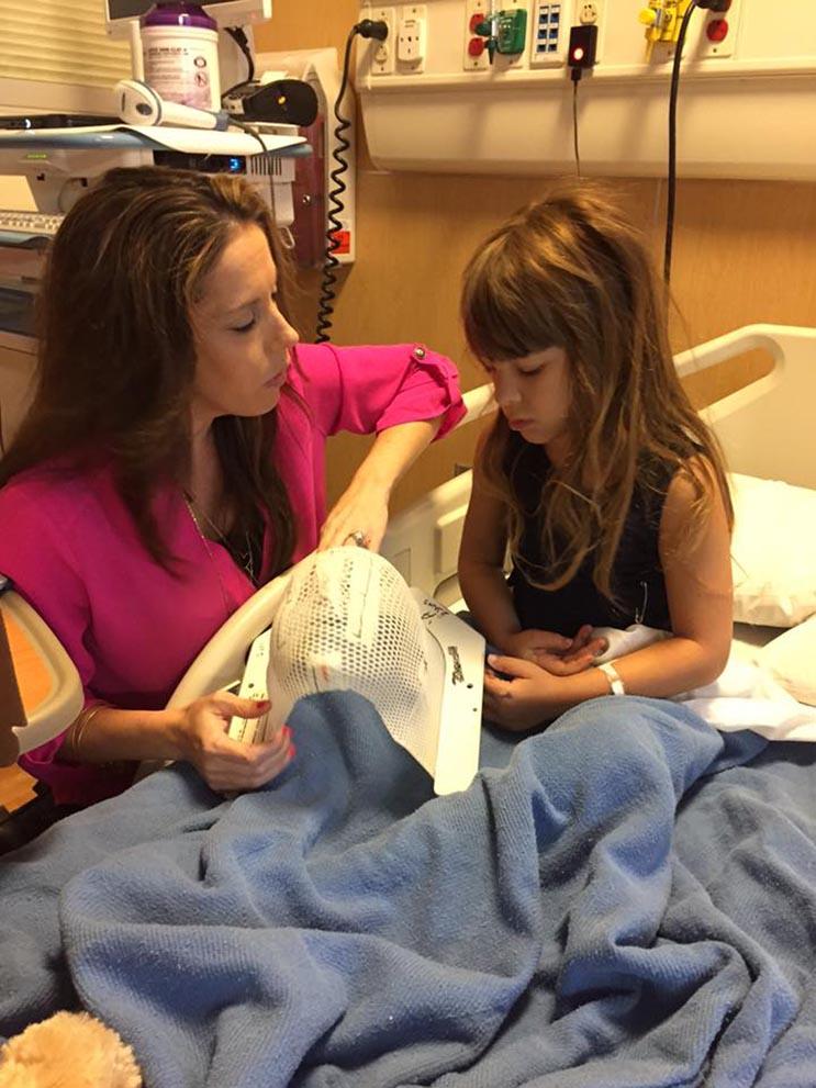 El tributo a esta niña de 7 años que murió de cáncer es realmente conmovedor - Katherine King 10