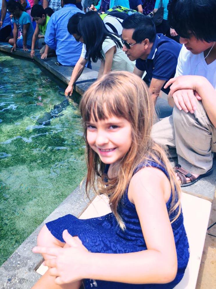El tributo a esta niña de 7 años que murió de cáncer es realmente conmovedor - Katherine King 11