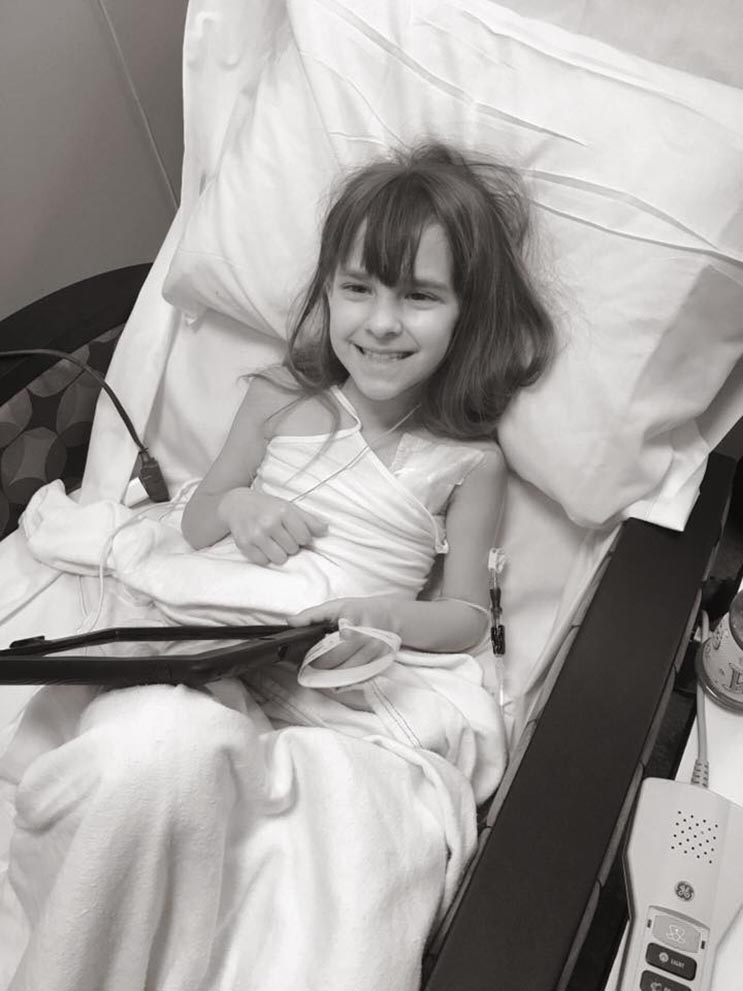 El tributo a esta niña de 7 años que murió de cáncer es realmente conmovedor - Katherine King 22
