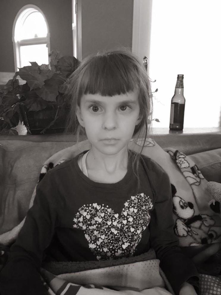 El tributo a esta niña de 7 años que murió de cáncer es realmente conmovedor - Katherine King 23