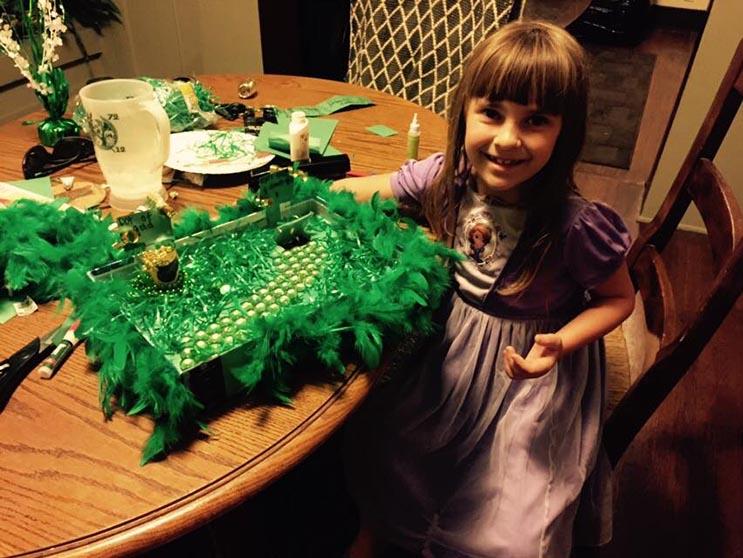 El tributo a esta niña de 7 años que murió de cáncer es realmente conmovedor - Katherine King 4