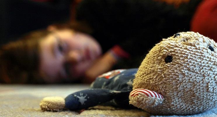 teddy und kind