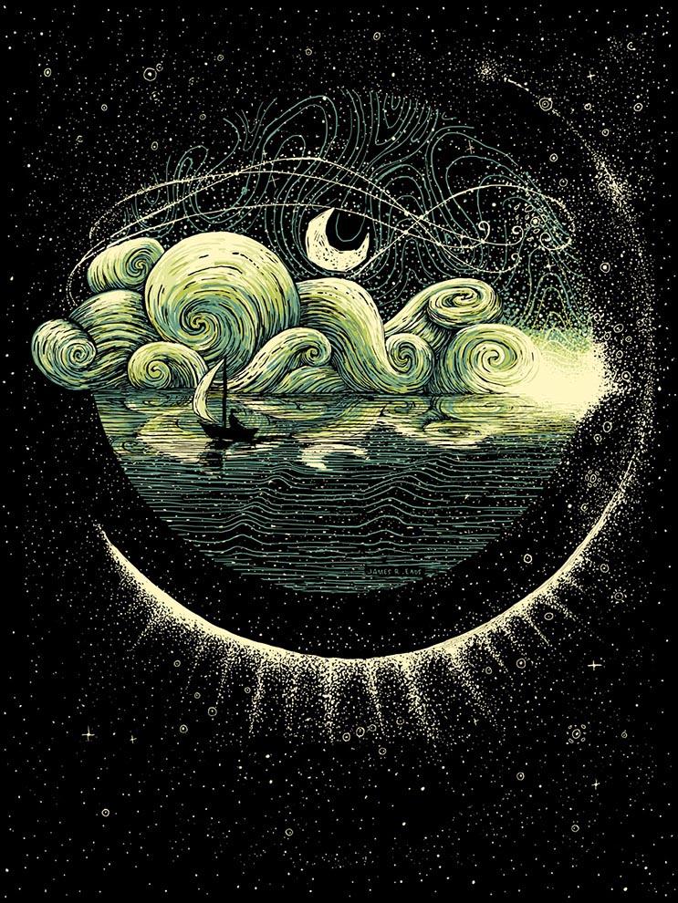 Envolventes ilustraciones del artista James R. Eads 17