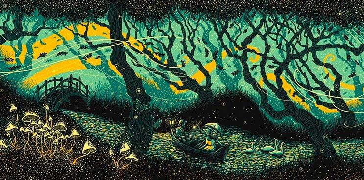 Envolventes ilustraciones del artista James R. Eads 2