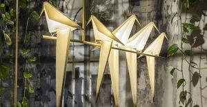 Espectaculares lámparas de origami realizadas por el artista Umut Yamac