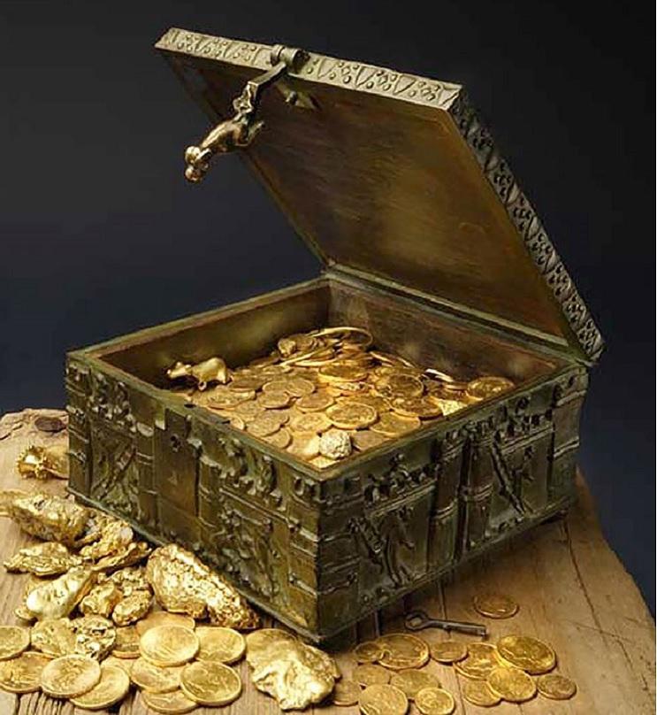 Estás dispuesto a encontrar un tesoro valorizado en US$ 2 millones Un poema es la clave 1