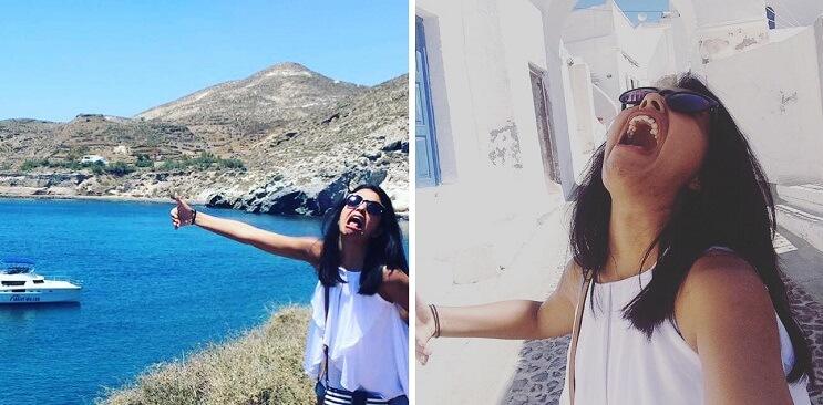 Esta novia tuvo que irse de luna de miel sola y sus fotos muestran cómo la pasó 13