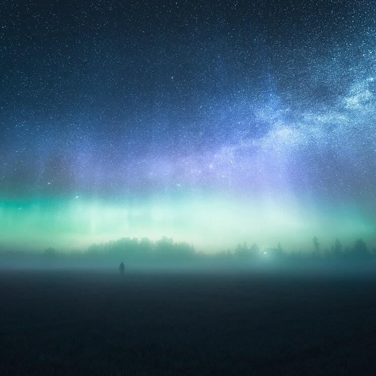 Estas fotografías capturaron la belleza de los paisajes de Finlandia e Islandia - Mikko Lagerstedt 10.1