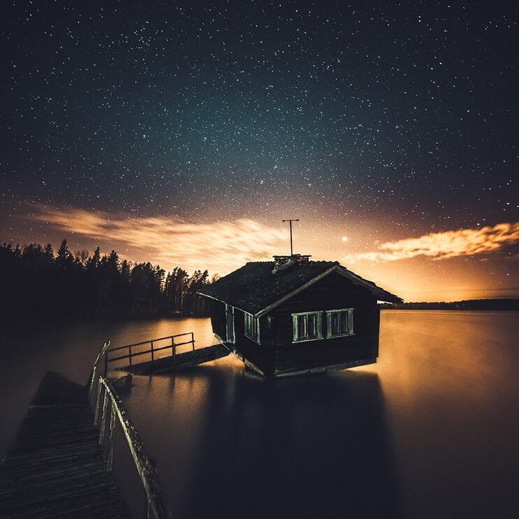 Estas fotografías capturaron la belleza de los paisajes de Finlandia e Islandia - Mikko Lagerstedt 2.1