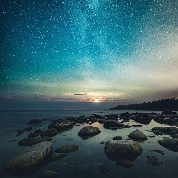 Estas fotografías capturaron la belleza de los paisajes de Finlandia e Islandia - Mikko Lagerstedt 3.1