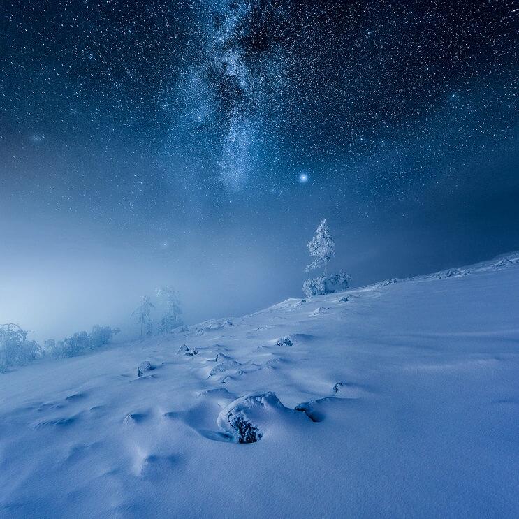 Estas fotografías capturaron la belleza de los paisajes de Finlandia e Islandia - Mikko Lagerstedt 4.1