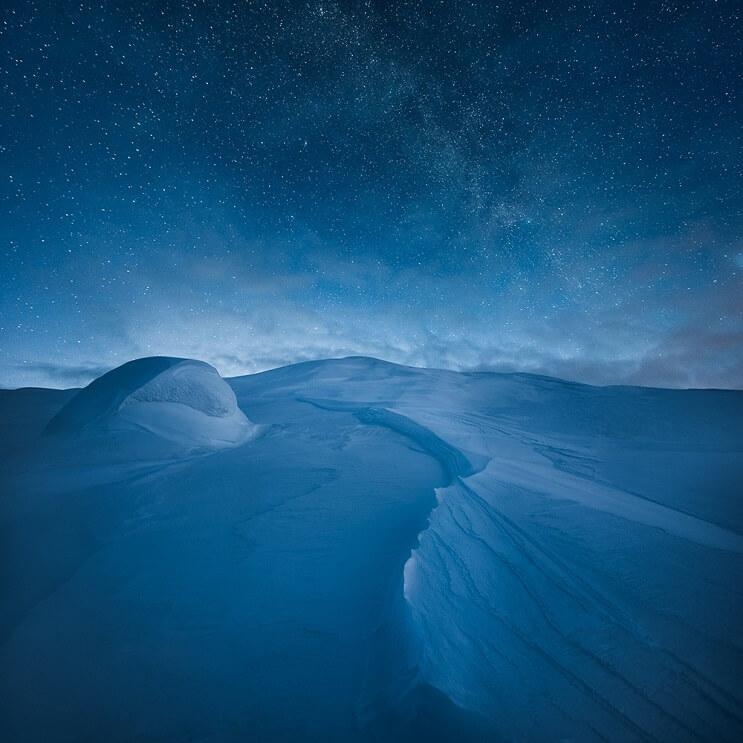 Estas fotografías capturaron la belleza de los paisajes de Finlandia e Islandia - Mikko Lagerstedt 5.1