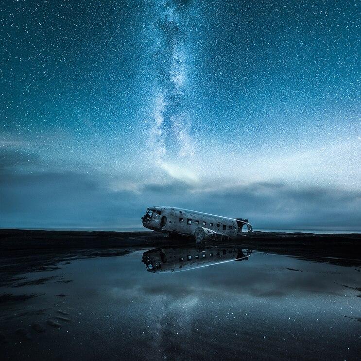 Estas fotografías capturaron la belleza de los paisajes de Finlandia e Islandia - Mikko Lagerstedt 6.1