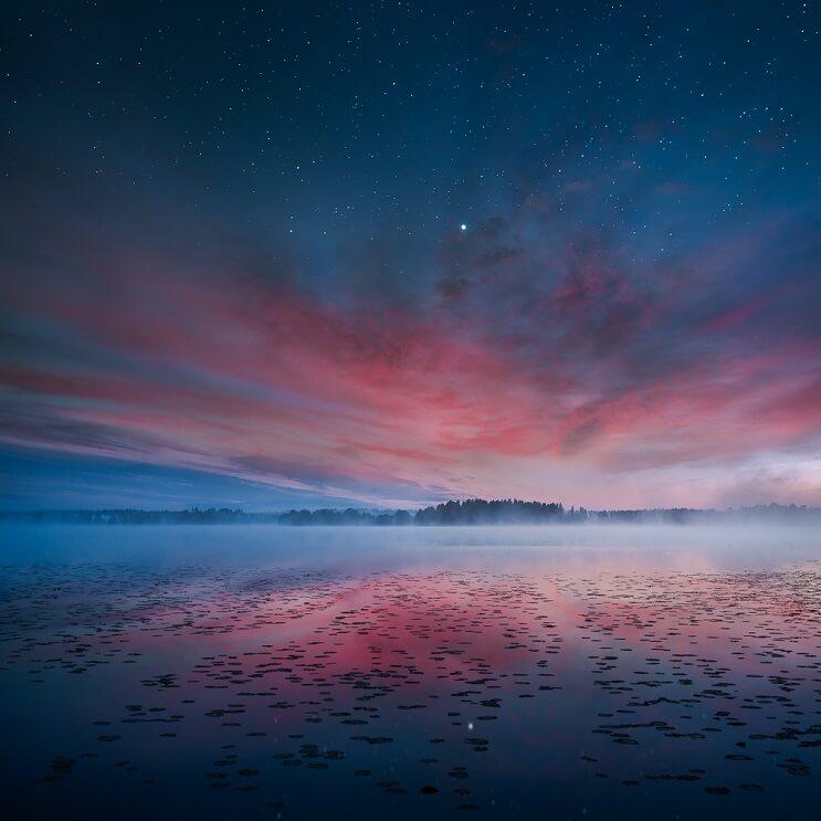 Estas fotografías capturaron la belleza de los paisajes de Finlandia e Islandia - Mikko Lagerstedt 7.1