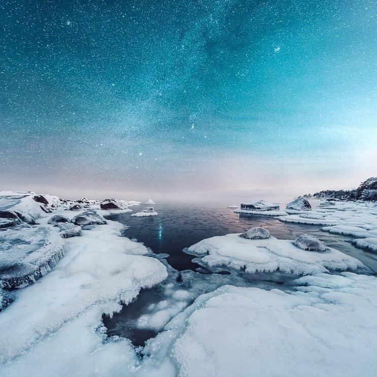 Estas fotografías capturaron la belleza de los paisajes de Finlandia e Islandia - Mikko Lagerstedt 9.1