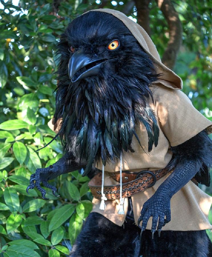Este artista ha sorprendido a los fans de Calabozos y Dragones con un espectacular traje 1