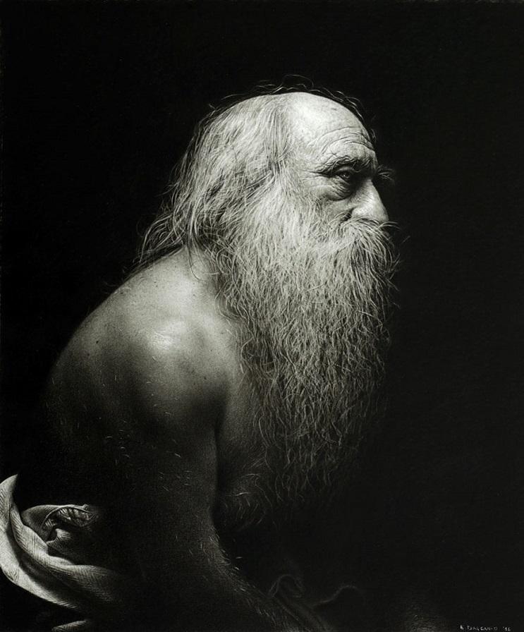 Este artista pasa cientos de horas dibujando obras hiperrealistas con técnica renancentista - Emanuele Dascanio 5