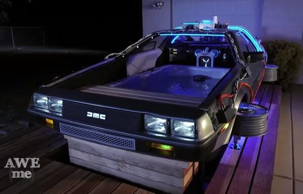 Estos muchachos hicieron la transformación del DeLorean más inusual de todas 04