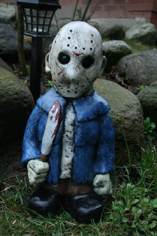 Fanático de los zombis Estos adornos para tu jardín te encantarán 14