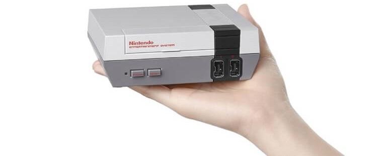 Fanáticos de los videojuegos Nintendo anuncia el lanzamiento de un nuevo NES 02