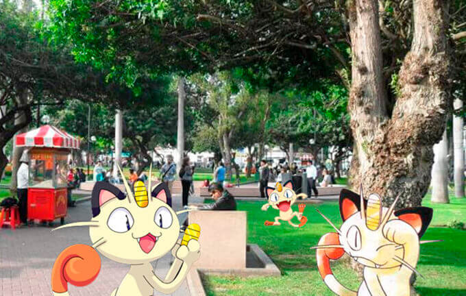 Fascinante Pokémon Go ya está disponible en Perú 5
