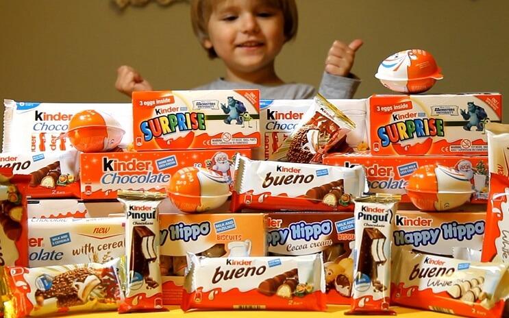 Hallan sustancias cancerígenas en tres conocidas marcas de chocolate - Kinder2