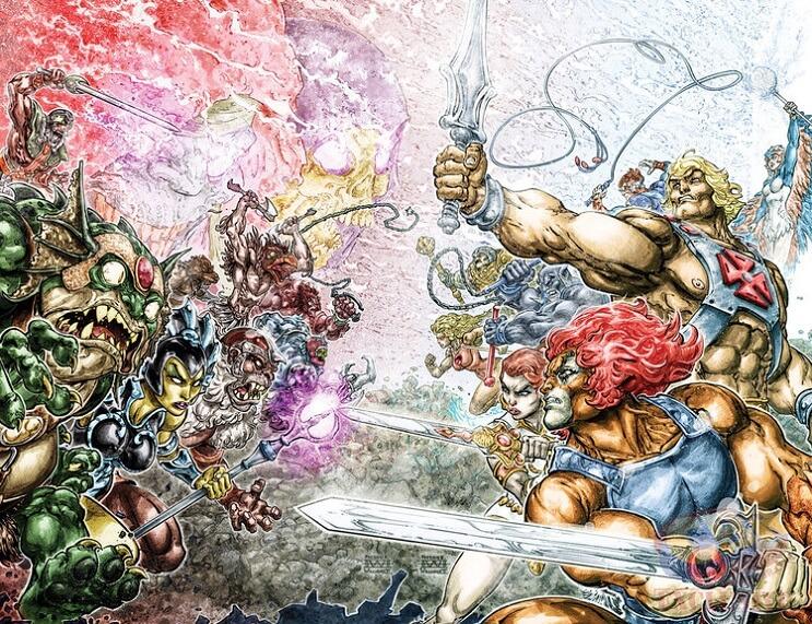 He-Man y los Thundercats se unen en una nueva serie de DC Comics
