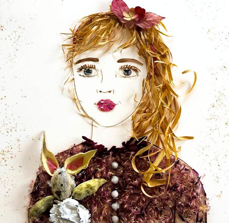 Ilustraciones botánicas Las particulares obras artísticas que te sorprenderán 11