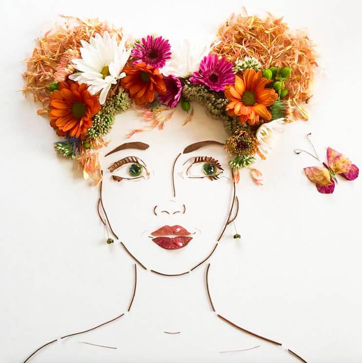 Ilustraciones botánicas Las particulares obras artísticas que te sorprenderán 12