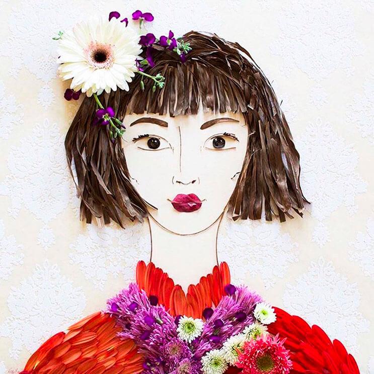 Ilustraciones botánicas Las particulares obras artísticas que te sorprenderán 13